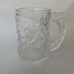 McDonald's 1995 Batman Forever Glass Mug